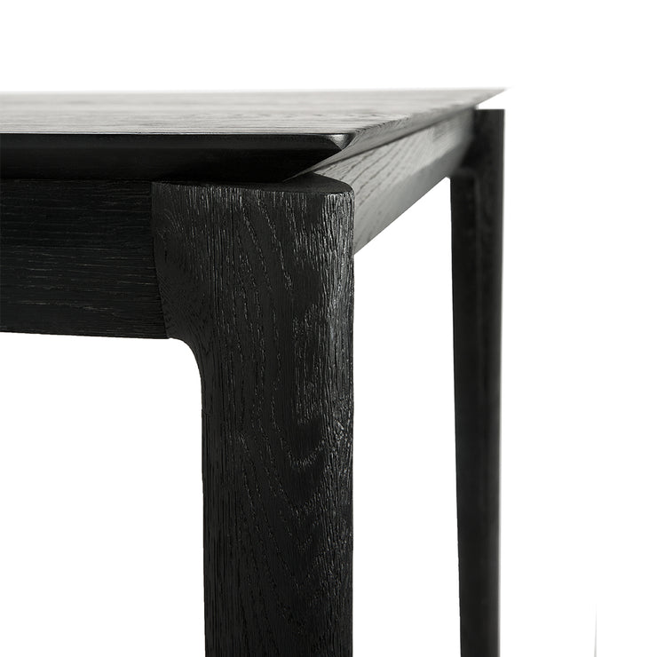ETHNICRAFT BLACK OAK BOK DINING TABLE - The Banyan Tree Furniture & Homewares