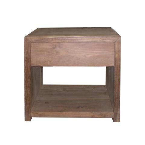 TEAK AZUR NIGHT STAND - The Banyan Tree Furniture & Homewares