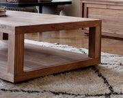 ETHNICRAFT TEAK DUPLEX COFFEE TABLE