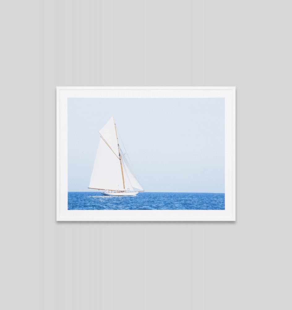 FIRST VOYAGE · FRAMED PRINT