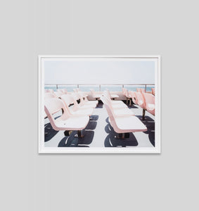 FERRY TRIP · FRAMED PRINT