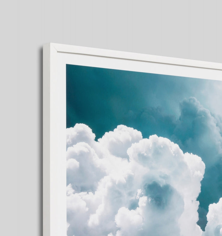 BILLOWING SKY · FRAMED PRINT - The Banyan Tree Furniture & Homewares