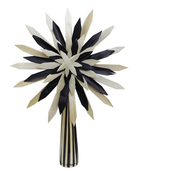 SCANDI TREE TOPPER- BLACK AND NATURAL