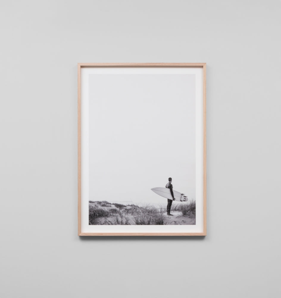 AFTERNOON SWELL · FRAMED PRINT