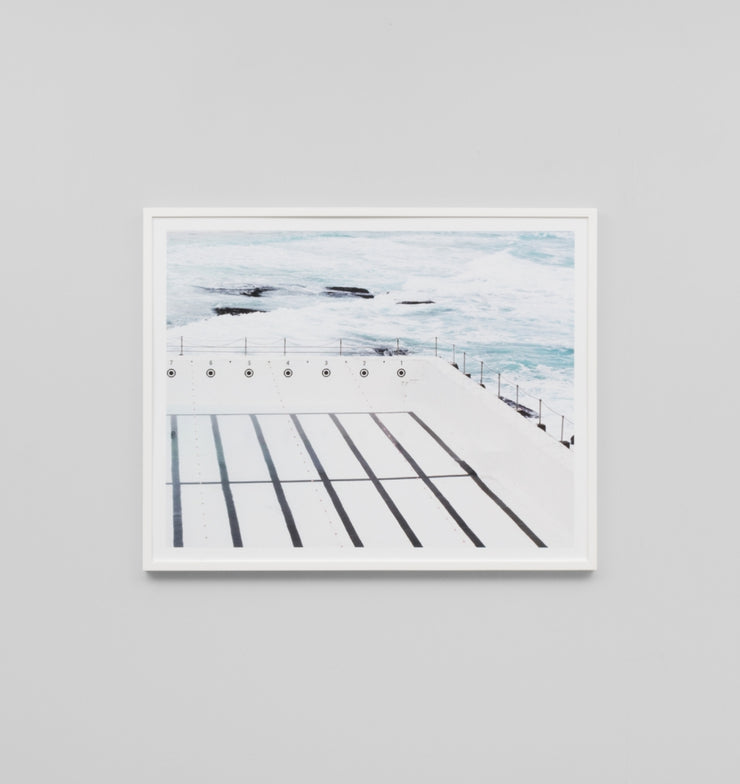 EMPTY POOL · FRAMED PRINT - The Banyan Tree Furniture & Homewares