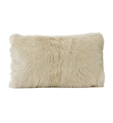 GOAT FUR LUMBER CUSHION