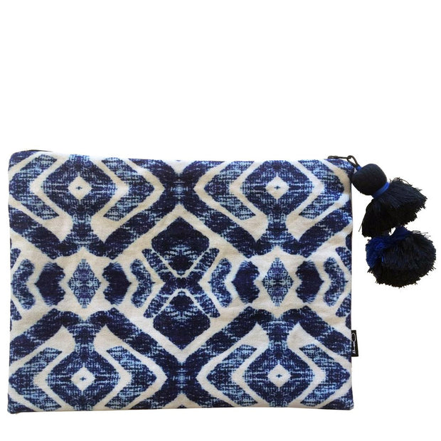 TROPIC TRIBE CLUTCH  BLUE