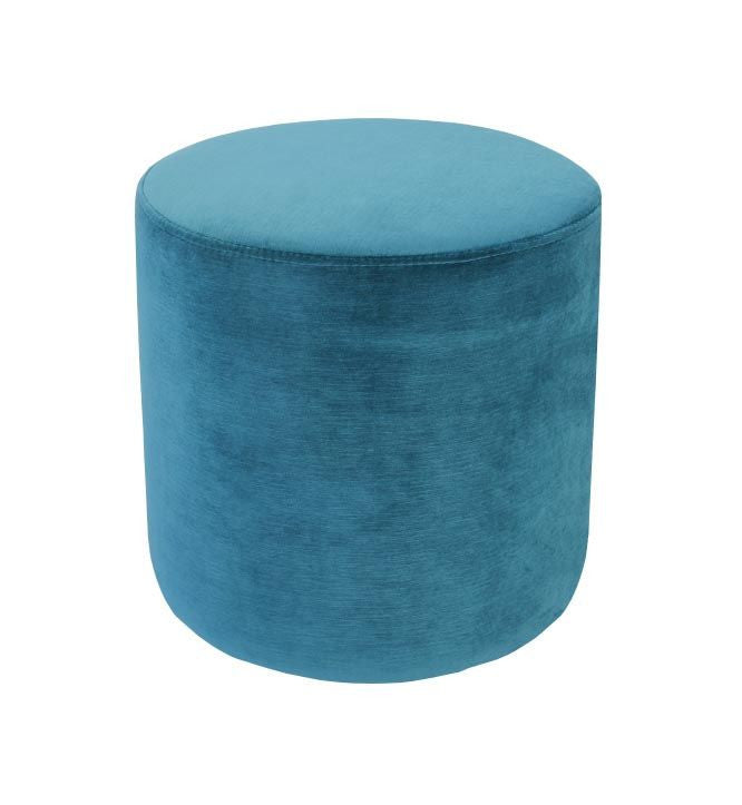 LUXURY VELVET OTTOMAN SMALL - The Banyan Tree Furniture & Homewares