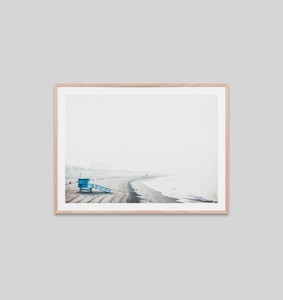 LIFEGUARD HUT · FRAMED PRINT