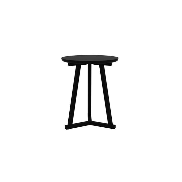 ETHNICRAFT OAK TRIPOD SIDE TABLE | BLACKSTONE - The Banyan Tree Furniture & Homewares