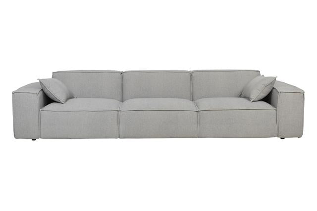 GLOBEWEST FELIX BLOCK SOFA - The Banyan Tree Furniture & Homewares