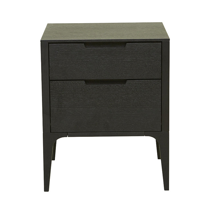 GLOBEWEST LUCA BEDSIDE TABLE - The Banyan Tree Furniture & Homewares