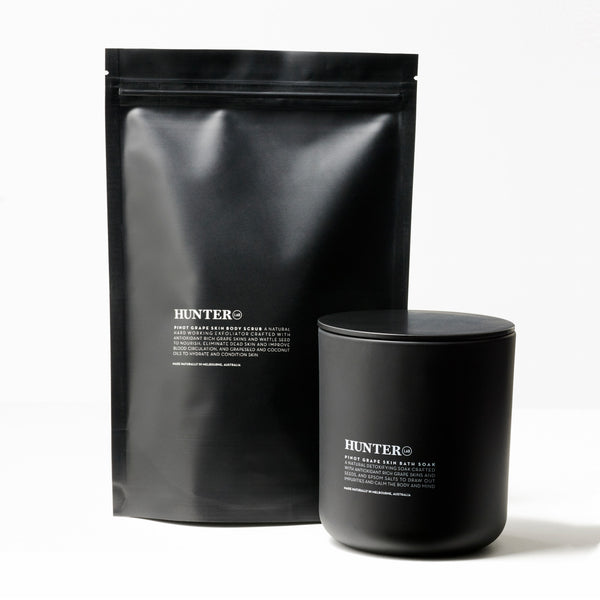 HUNTER PINOT GRAPE SKIN BATH SOAK
