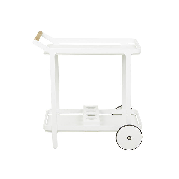 GLOBEWEST LAGOON BAR TROLLEY - The Banyan Tree Furniture & Homewares