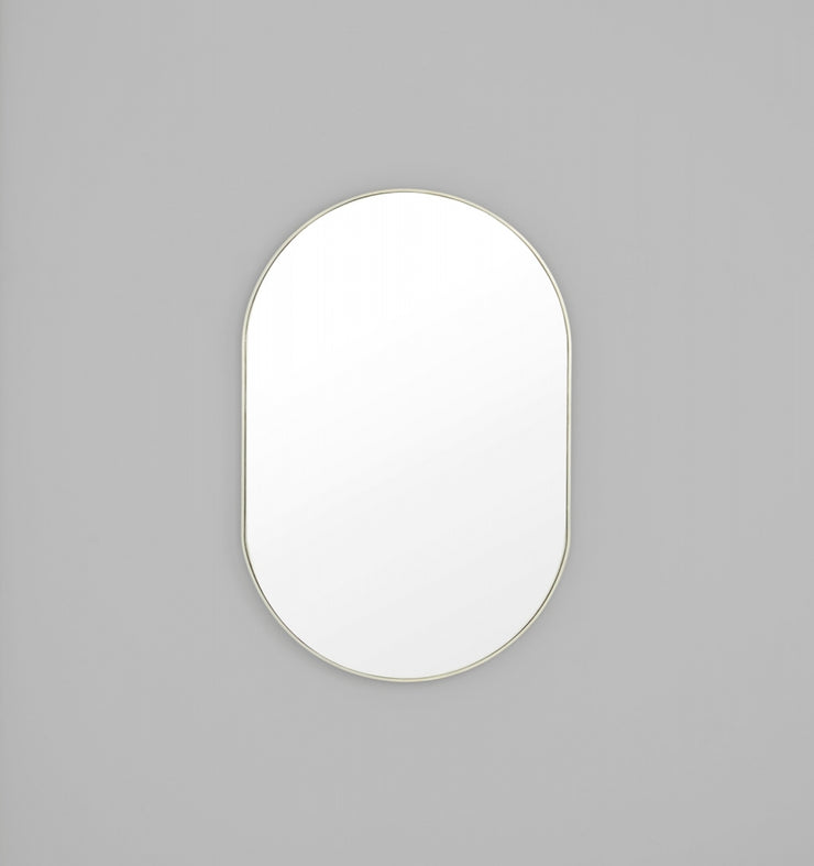 BJORN OVAL MIRROR LARGE - The Banyan Tree Furniture & Homewares
