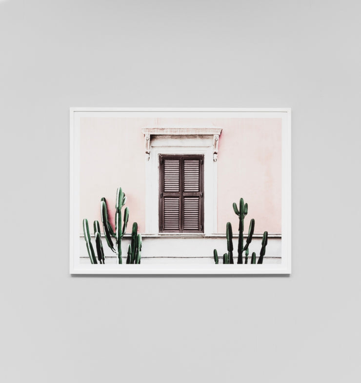 BLUSH VILLA · FRAMED PRINT - The Banyan Tree Furniture & Homewares