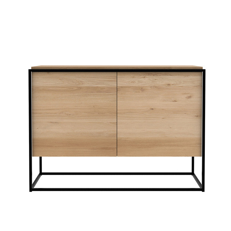 ETHNICRAFT OAK MONOLIT SIDEBOARD - The Banyan Tree Furniture & Homewares