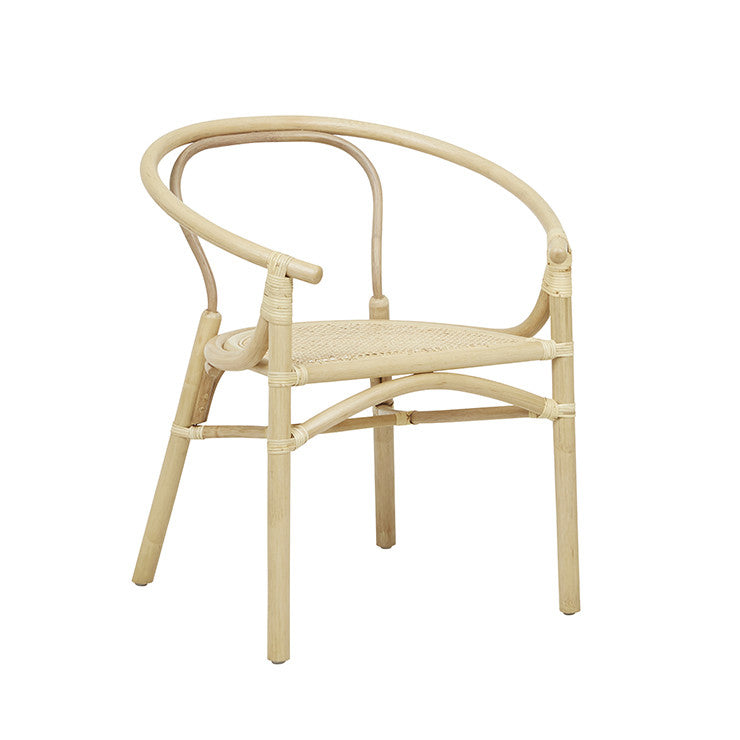 GLOBEWEST AVERY MAJA ARM CHAIR - The Banyan Tree Furniture & Homewares