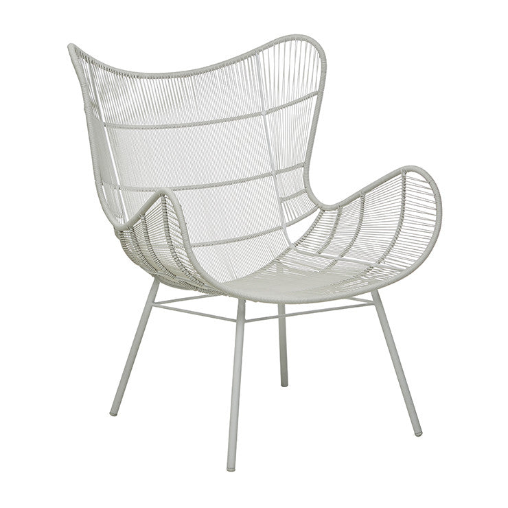 GLOBEWEST MAURITIUS WING OCCASIONAL CHAIR