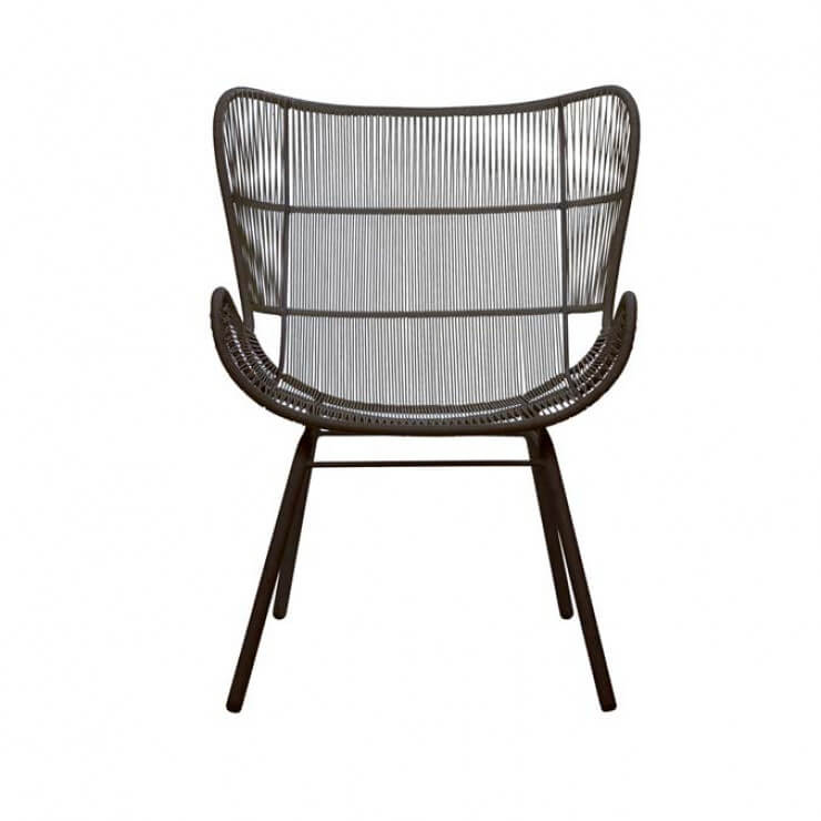 GLOBEWEST | MAURITIUS WING SMALL OCCASIONAL CHAIR