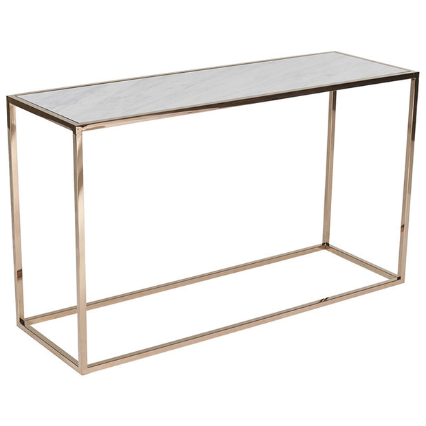 GLOBEWEST ELLE CUBE MARBLE CONSOLE