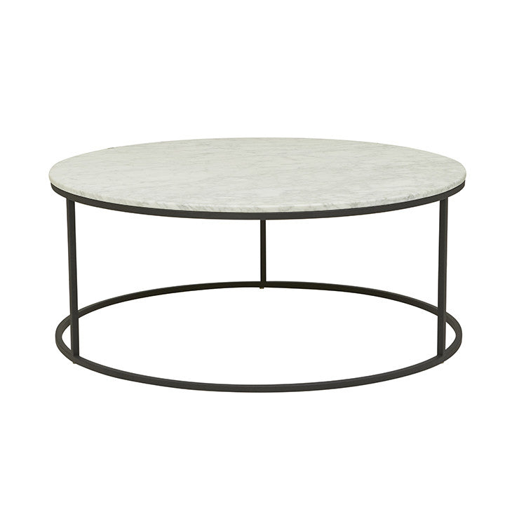 GLOBEWEST ELLE ROUND COFFEE TABLE - The Banyan Tree Furniture & Homewares