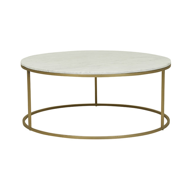 GLOBEWEST ELLE ROUND COFFEE TABLE