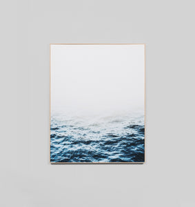 DISTANT WATERS · FRAMED PRINT