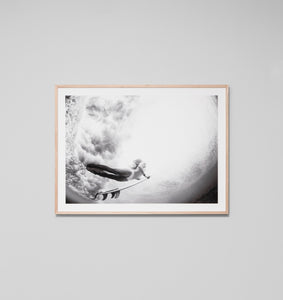 DIVE IN · FRAMED PRINT