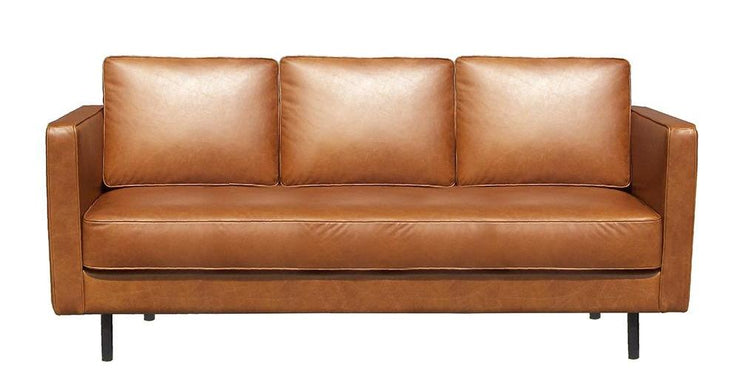 ETHNICRAFT N501 LEATHER SOFA - The Banyan Tree Furniture & Homewares