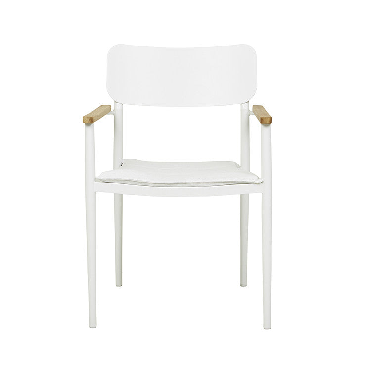 GLOBEWEST LAGOON DINING ARM CHAIR - The Banyan Tree Furniture & Homewares