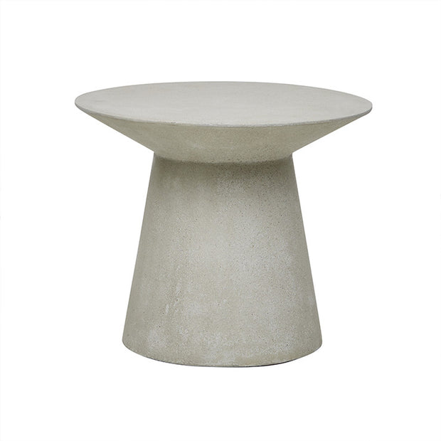 GLOBEWEST LIVORNO ROUND SIDE TABLE