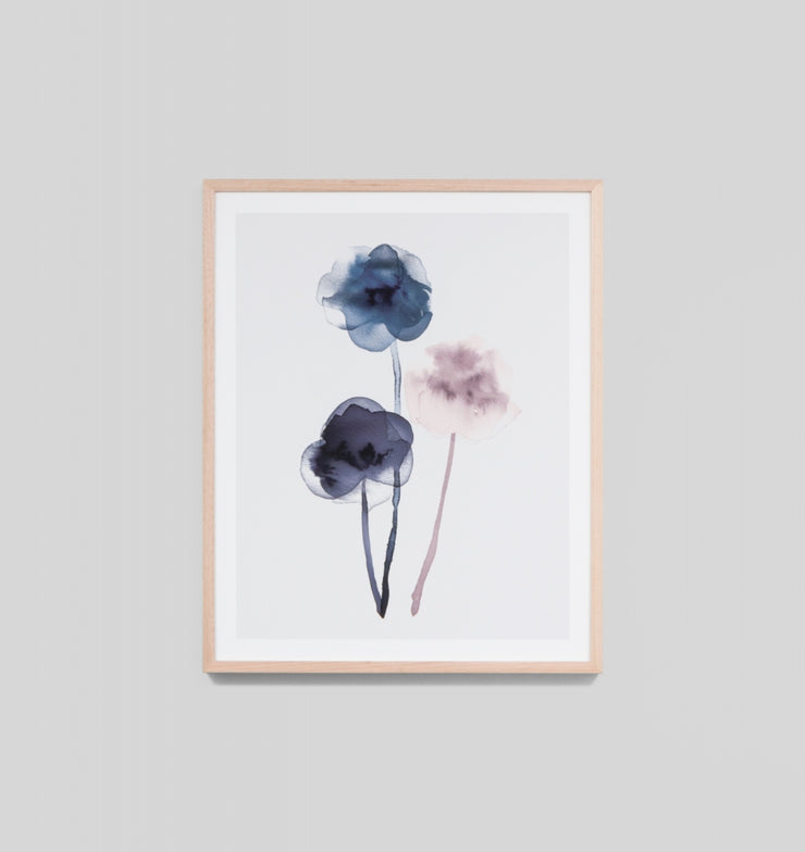 SOFT BLOSSOM 3 · FRAMED PRINT - The Banyan Tree Furniture & Homewares