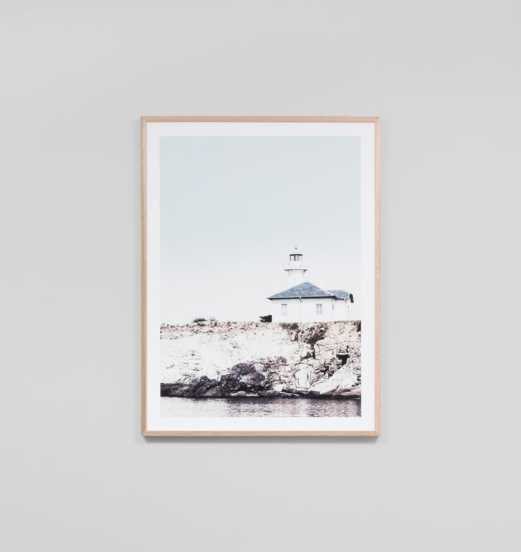 COASTAL LIGHTHOUSE · FRAMED PRINT