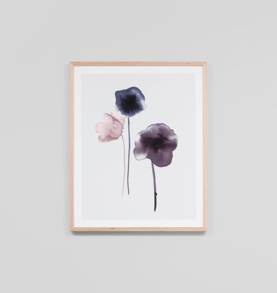 SOFT BLOSSOM 1 · FRAMED PRINT