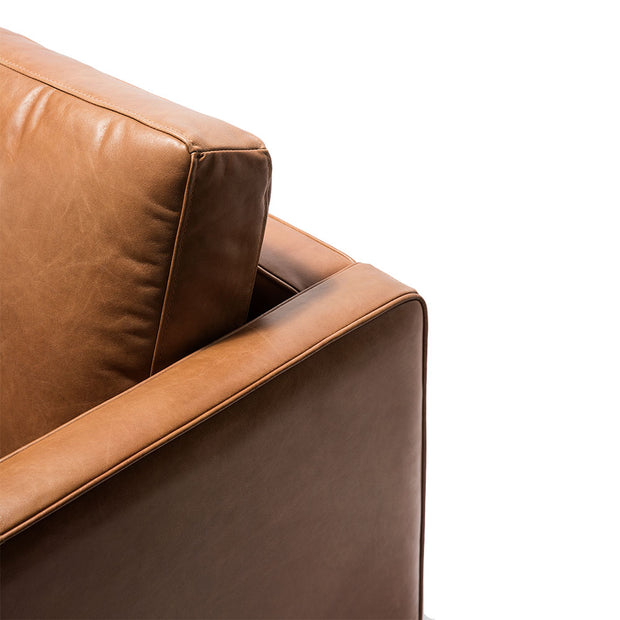 ETHNICRAFT N501 LEATHER SOFA
