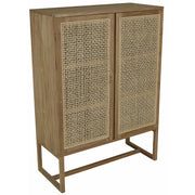 GLOBEWEST WILLOW WOVEN STORAGE UNIT - The Banyan Tree Furniture & Homewares