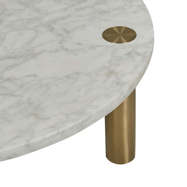 GLOBEWEST AMARA DISC COFFEE TABLE