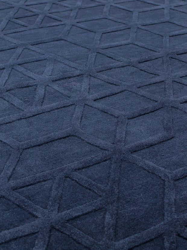 NAVY LIMA RUG  EX FLOOR STOCK