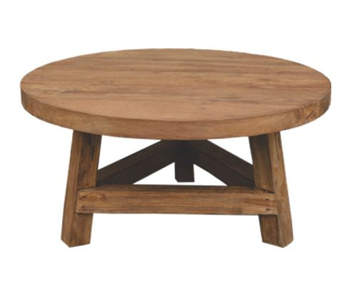 TEAK DRIFTWOOD COFFEE TABLE