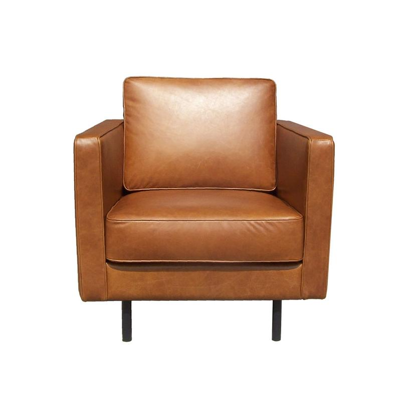 ETHNICRAFT N501 LEATHER ARMCHAIR
