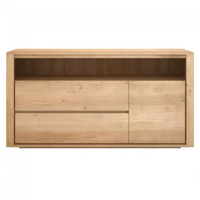 ETHNICRAFT OAK SHADOW CHEST OF DRAWERS - The Banyan Tree Furniture & Homewares
