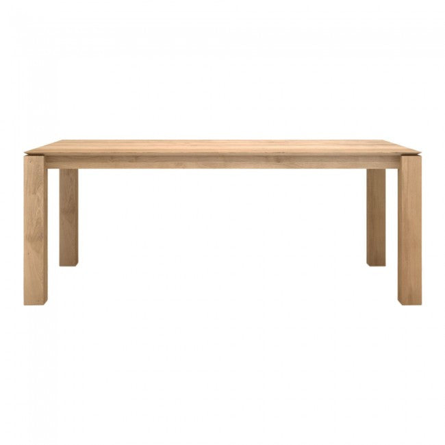 ETHNICRAFT OAK SLICE DINING TABLE - The Banyan Tree Furniture & Homewares