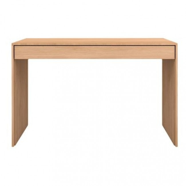 ETHNICRAFT OAK WAVE DESK - The Banyan Tree Furniture & Homewares