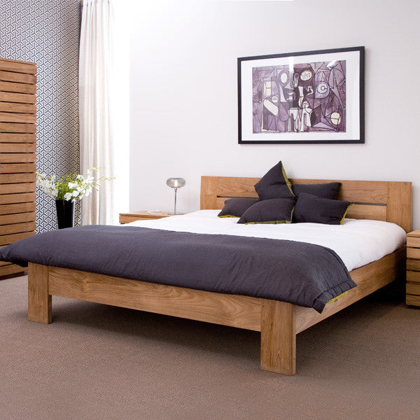Teak Azur Bed Ethnicraft