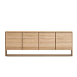 ETHNICRAFT OAK NORDIC 4 DOOR SIDEBOARD