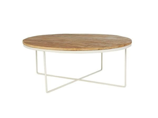 GLOBEWEST FLINDERS ROUND COFFEE TABLE
