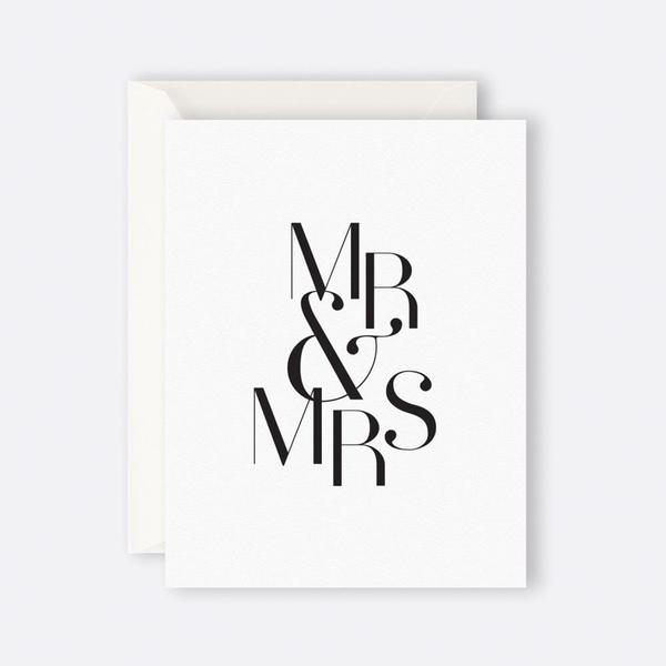 MR & MRS CARD - The Banyan Tree Furniture & Homewares