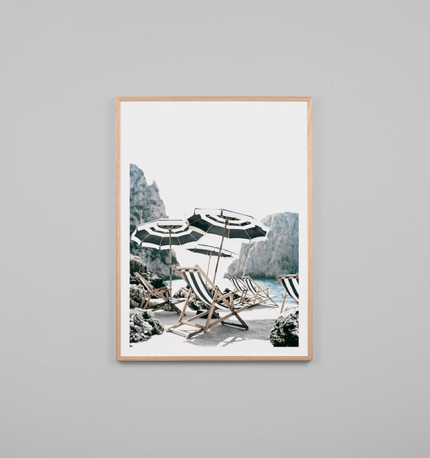 ITALIAN AFTERNOON · FRAMED PRINT