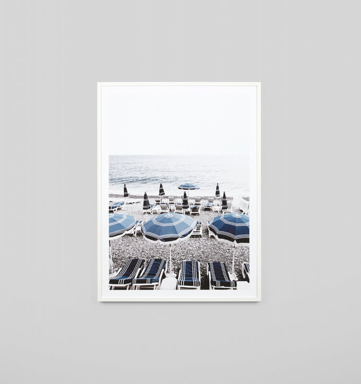 ITALIAN SEASIDE | FRAMED PRINT - The Banyan Tree Furniture & Homewares